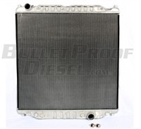 Aluminum Tank, Aluminum Core Radiator, Ford 6.0L F-Series