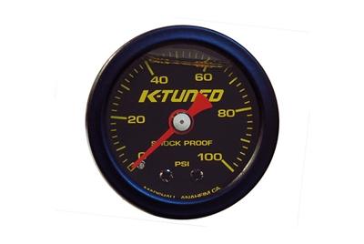Fuel Pressure Gauge, Liquid Filled (0-100 psi)