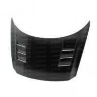 TS-style carbon fiber hood for 2011-2012 Honda CR-Z