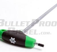 Torx bit T-Handle Tool, T20 Bit-Size