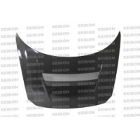 VSII-style carbon fiber hood for 2011-2012 Honda CR-Z