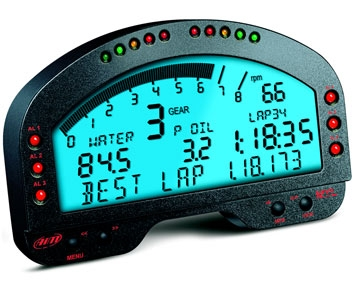 Aim Sports Mxl Pista Digital Dash Display Garagerz